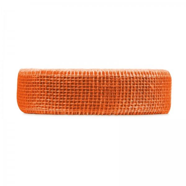 """Geschenkband """"Jute"""" Orange 50mm x 40m"""