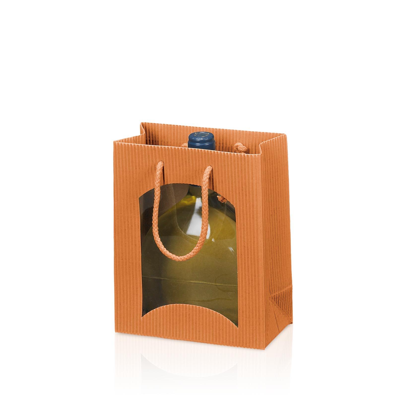 tragetasche bb cotto offene welle mit fenster 1er taschen offene welle taschen beutel. Black Bedroom Furniture Sets. Home Design Ideas