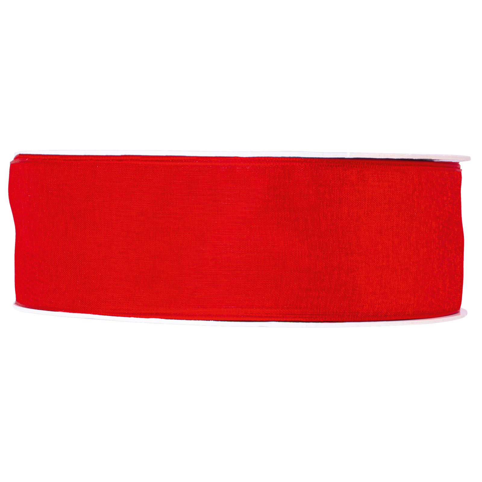 Geschenkband organza rot 40mm x 50m geschenkb nder for Restposten dekoartikel