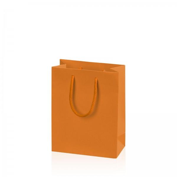 """Papiertragetasche """"Linea"""" Cotto mit Streifenprägung BB"""