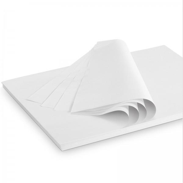 """Seidenpapier """"Weiss"""" 28g/qm 500x375mm 2 Kg/ ca.380 Blatt"""