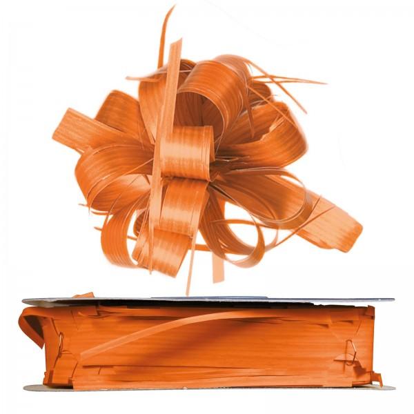 """Ziehschleifenband Country Orange"" 25mm x 40m"