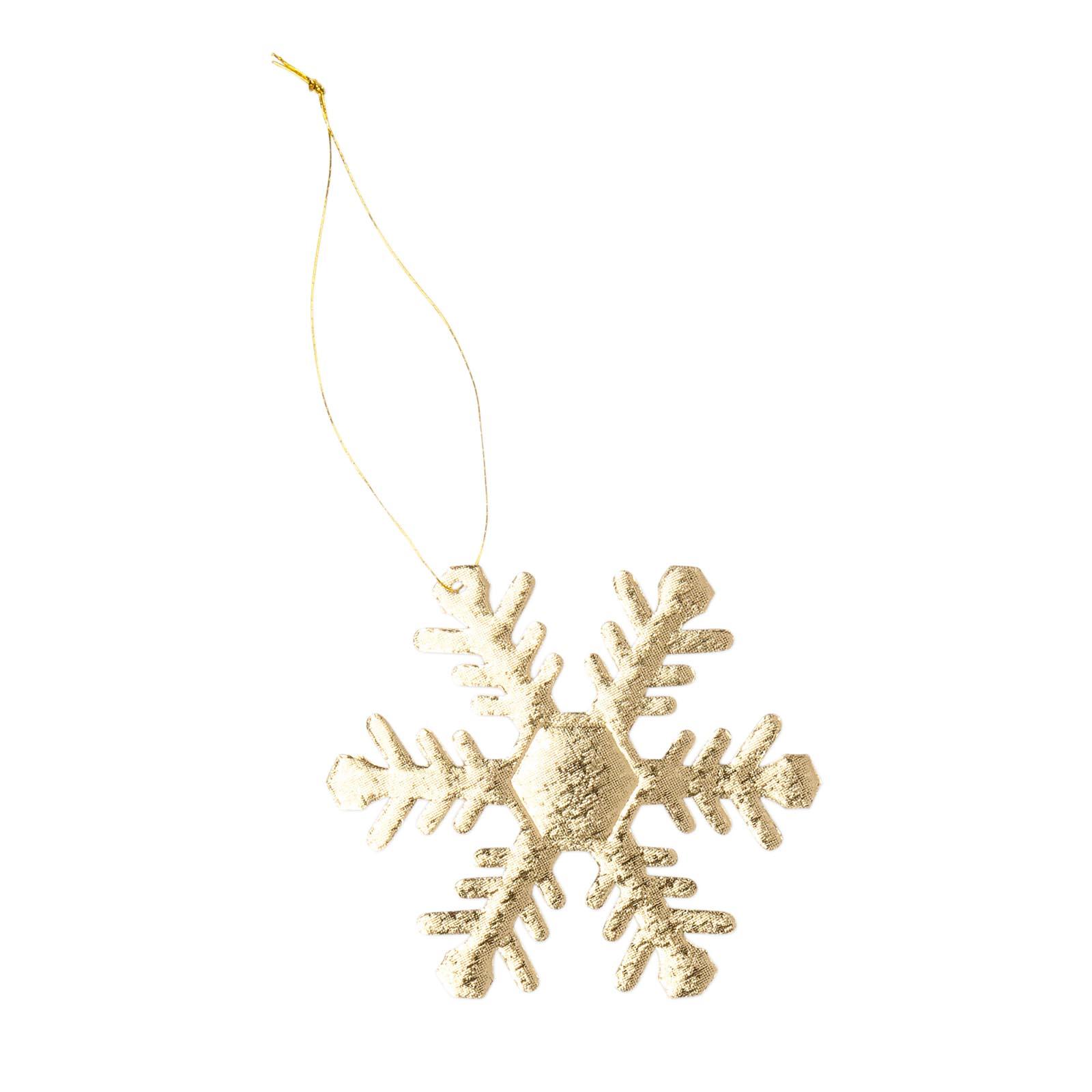 Anh nger eiskristall gold 65mm weihnachtlich for Restposten dekoartikel