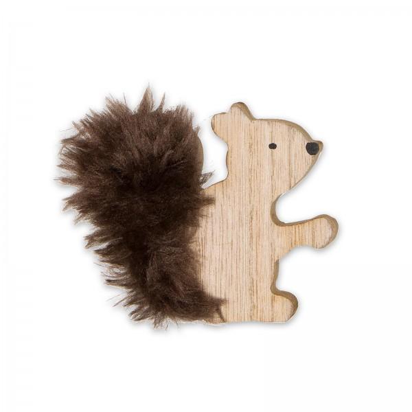 "Holz-Deko ""Eichhörnchen"""