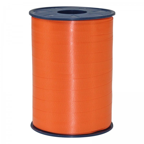 """Geschenkband """"Ringelband Orange"""" 10mm x 250m"""