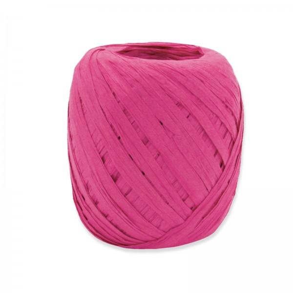 "Geschenkbast ""Paper-Raffia"" Pink 5mm x 50m"