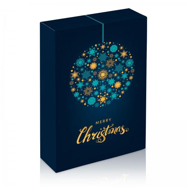 """Weihnachtskugel"", 3er Faltschachtel"