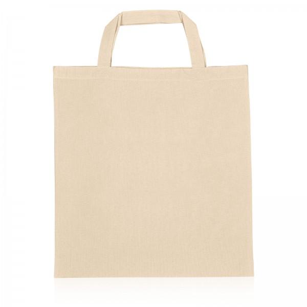 Einkaufstasche aus Baumwolle -L- Natur B38 x H42cm