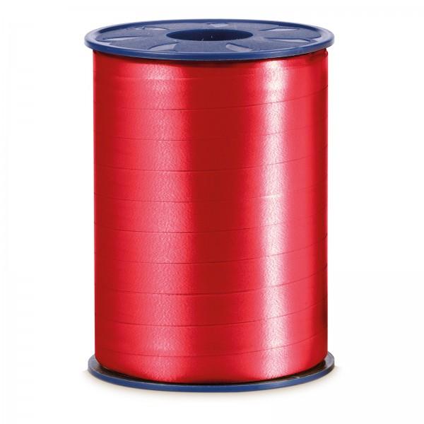 """Geschenkband """"Ringelband Rot"""" 10mm x 250m"""