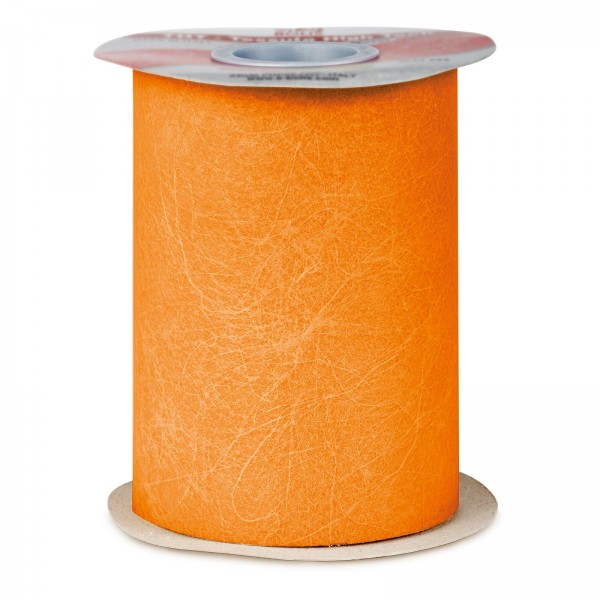 """Geschenkband """"Deko-Vlies"""" Orange, 125mm x 50m"""