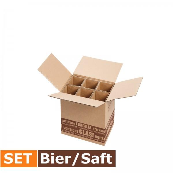 """""""S-LOG 280"""" Versandsystem 6er Bier/Saft SET"""