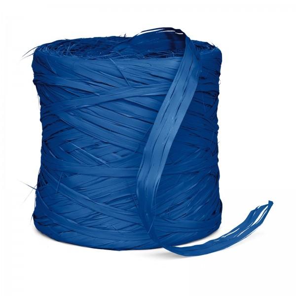 "Geschenkbast ""Raphia-Synthetik"" Blau 220m"