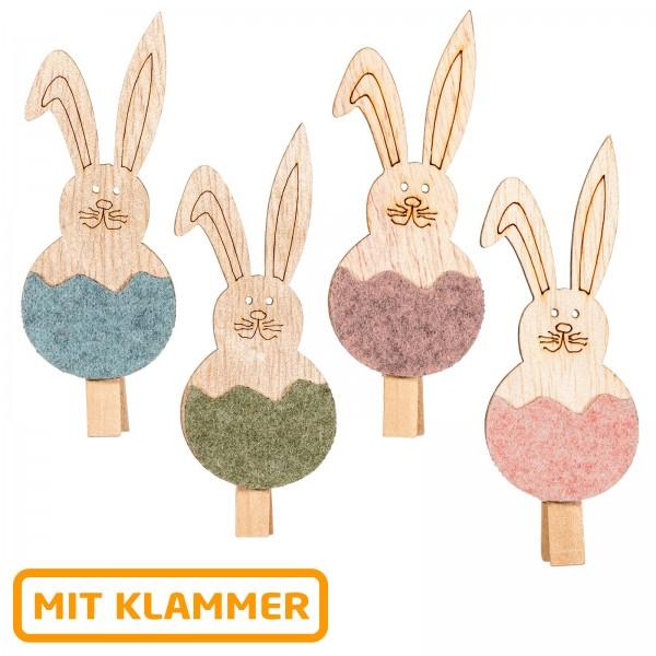 "Holzklammer ""Hasi"""