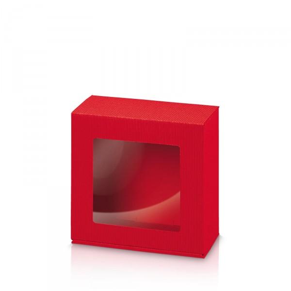 """""""Modern Rot"""" Allround -S- mit Folienfenster"""