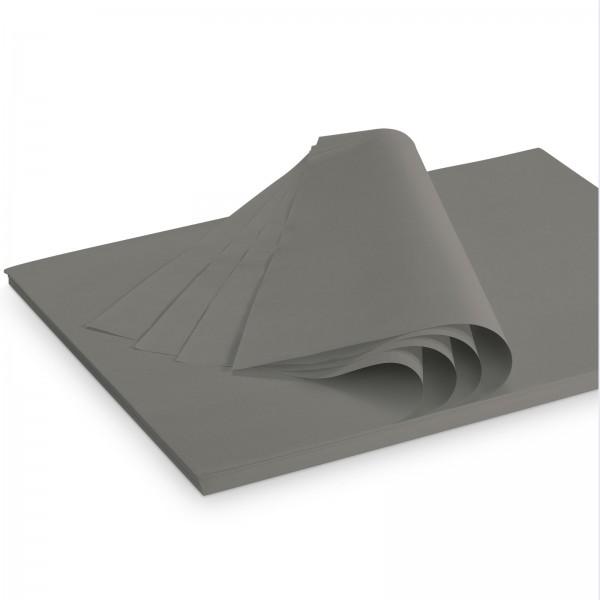 "Seidenpapier ""Dunkelgrau"" 35g/qm 500x375mm 2 Kg/ ca.300 Blatt"