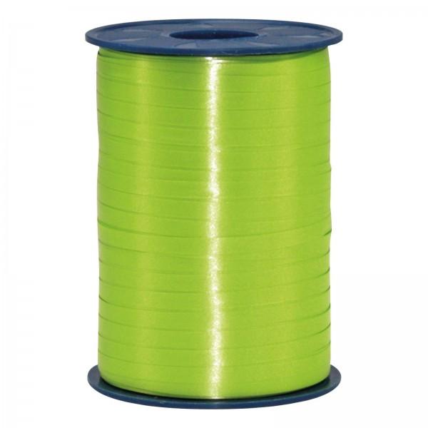 "Geschenkband ""Ringelband Apfelgrün (Hellgrün)"" 5mm x 500m"