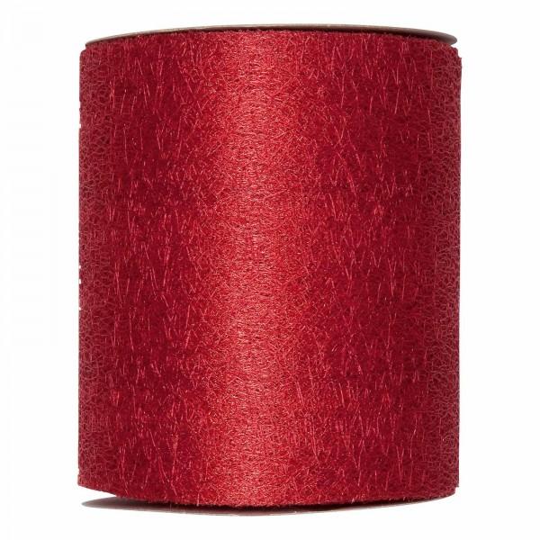"""Geschenkband """"Deko-Netz"""" Rot, 100mm x 20m"""