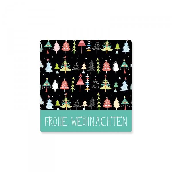 """Klebeetiketten """"Frohe Weihnachten"""" Baum, 500 Stück"""