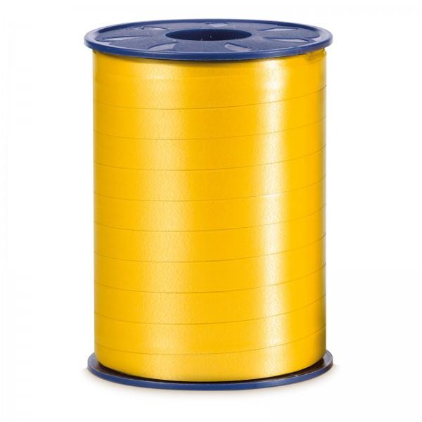 """Geschenkband """"Ringelband Gelb"""" 10mm x 250m"""
