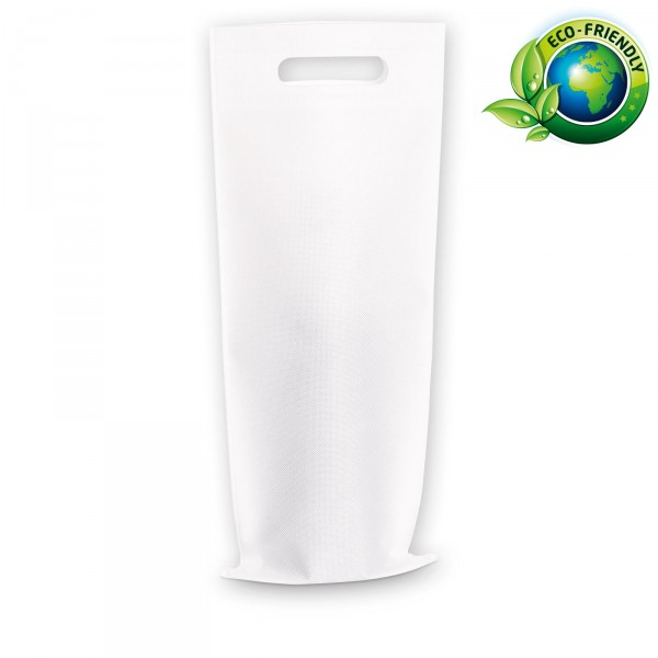 Einkaufstasche 1er Weiß aus Vlies (non-woven)