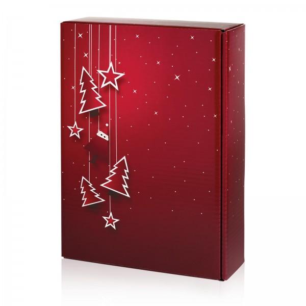 """Santa"" Bordeaux, 3er Präsentkarton"
