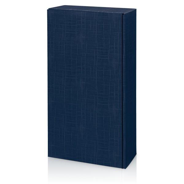 """""""Seta Blau"""" Strukturgeprägt, 2er Präsentkarton"""