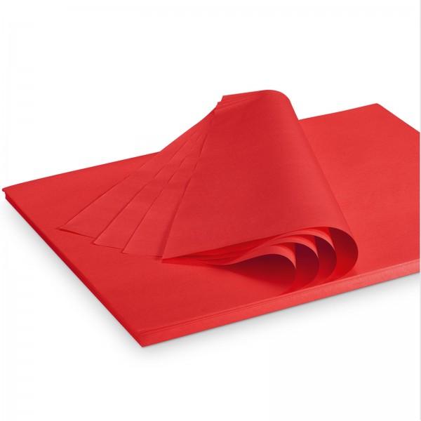"Seidenpapier ""Rot"" 35g/qm 375x500mm 2 Kg/ ca.300 Blatt"