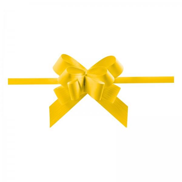 """Ziehschleife """"Grangala Paper"""" Gelb"""