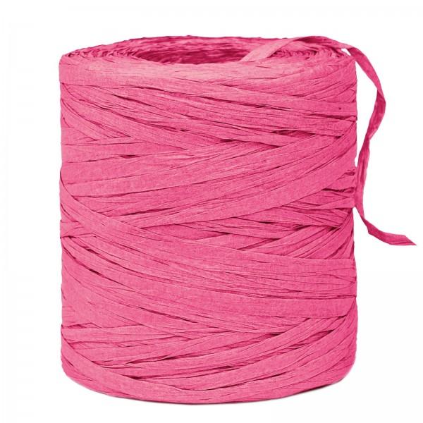 "Geschenkband ""Paper-Raffia"" Pink, 5mm x 200m"