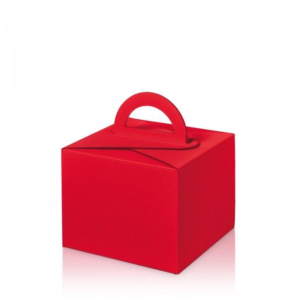 """""""Modern Rot"""" Allround -Box- mit Tragegriff"""