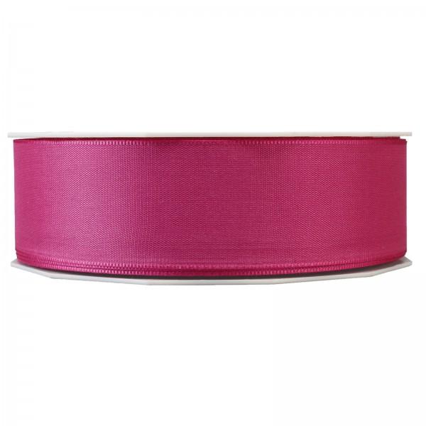 """Geschenkband """"Uni"""" Pink (Beere) 40mm x 50m"""