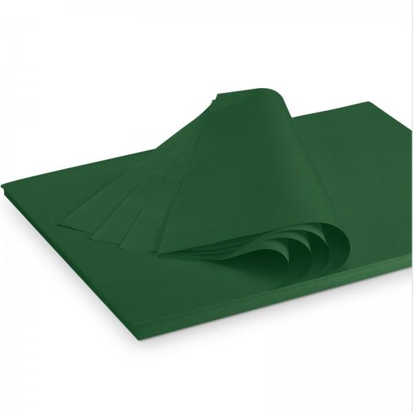 """Seidenpapier """"Dunkelgrün"""" 35g/qm 500x375mm 2 Kg/ ca.300 Blatt"""