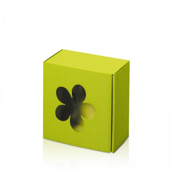 """""""Modern Limette Blume"""" Allround -S- mit Folienfenster"""