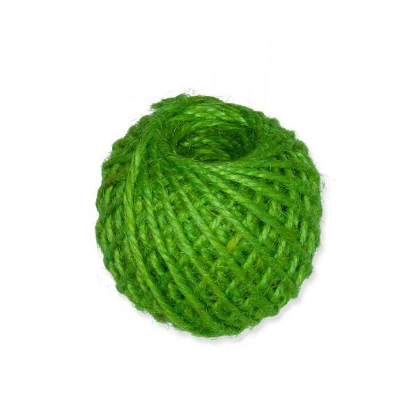 Jutekordel Grasgrün, 3mm x ca. 46m