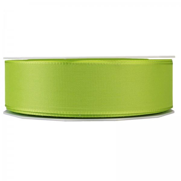 """Geschenkband """"Uni"""" Hellgrün 40mm x 50m"""