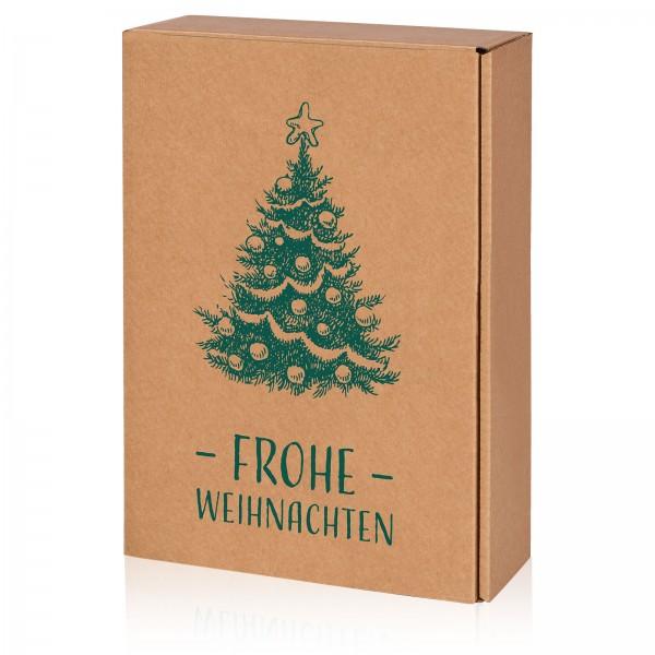 """""""Natura Frohe Weihnachten"""", 3er Präsentkarton"""