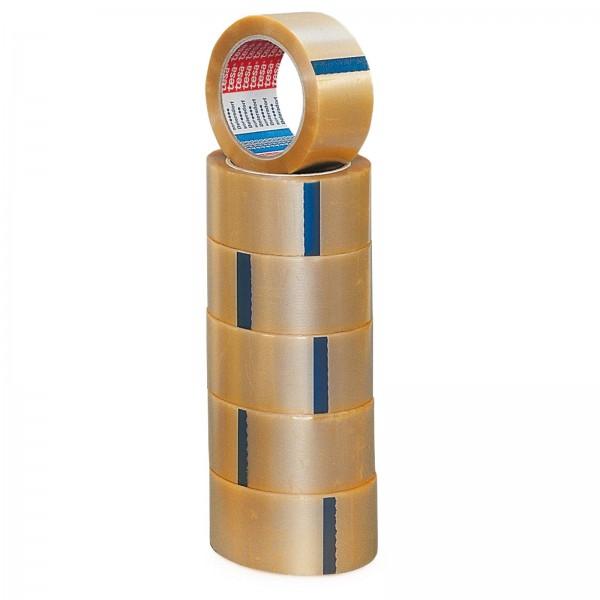 Klebeband TESA PVC-Transparent geprägt 66m/50mm #4100(4065)