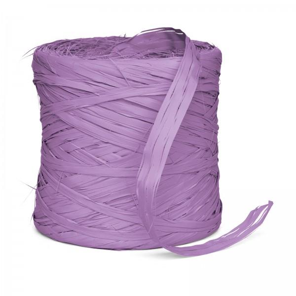 "Geschenkbast ""Raphia-Synthetik"" Lavendel 200m"