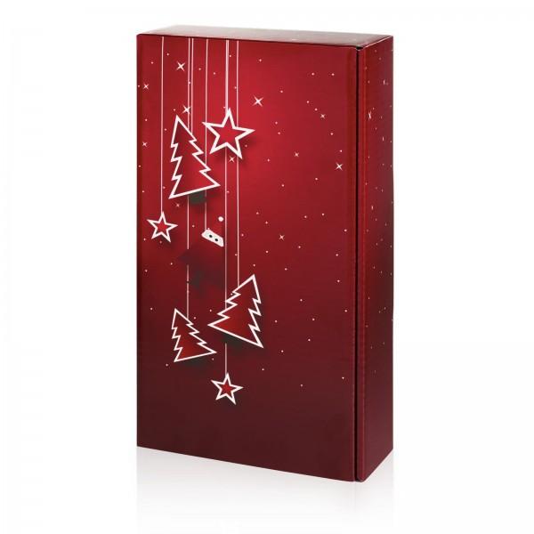 """Santa"" Bordeaux, 2er Präsentkarton"