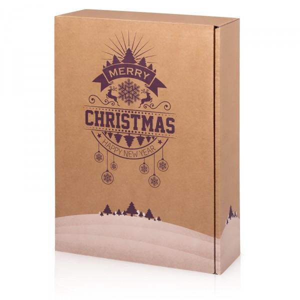 """Natura Christmas"", 3er Präsentkarton"