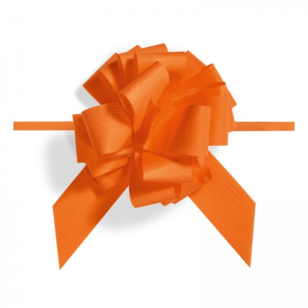 """Ziehschleife """"Granfiocco Paper"""" Orange"""