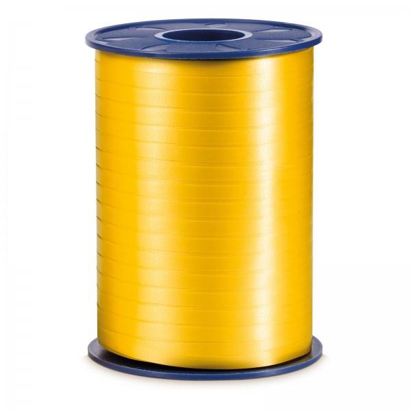 """Geschenkband """"Ringelband Gelb"""" 5mm x 500m"""