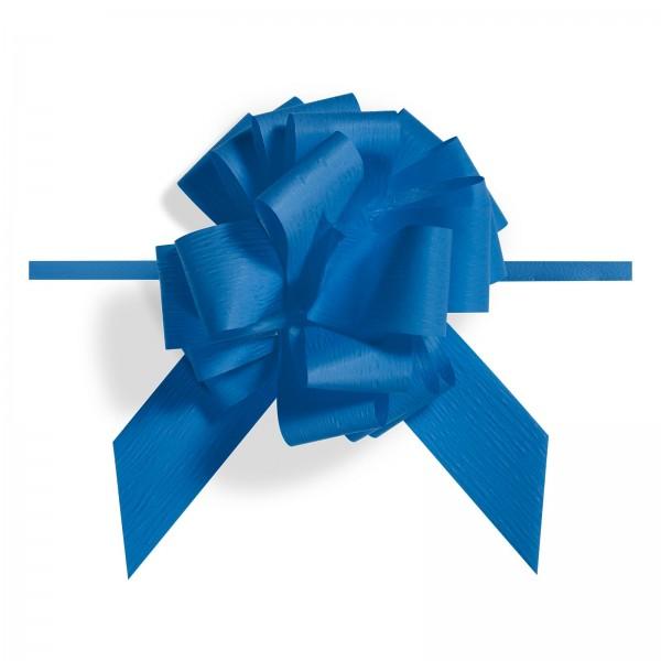 """Ziehschleife """"Granfiocco Paper"""" Blau"""