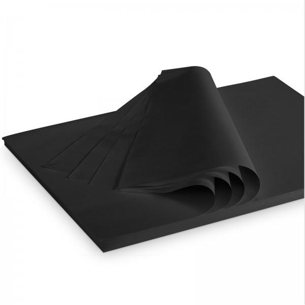 "Seidenpapier ""Schwarz"" 28g/qm 500x375mm 2 Kg/ ca.380 Blatt"