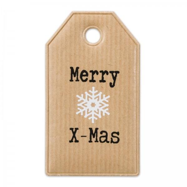 """Papier-Anhänger """"Merry Christmas"""""""