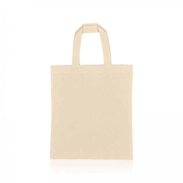Einkaufstasche aus Baumwolle -S- Natur B28 x H32cm