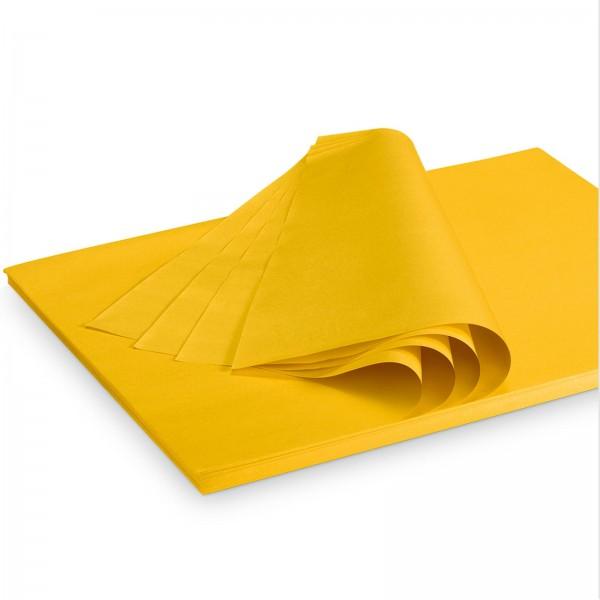 """Seidenpapier """"Gelb"""" 35g/qm 500x375mm 2 Kg/ ca.300 Blatt"""