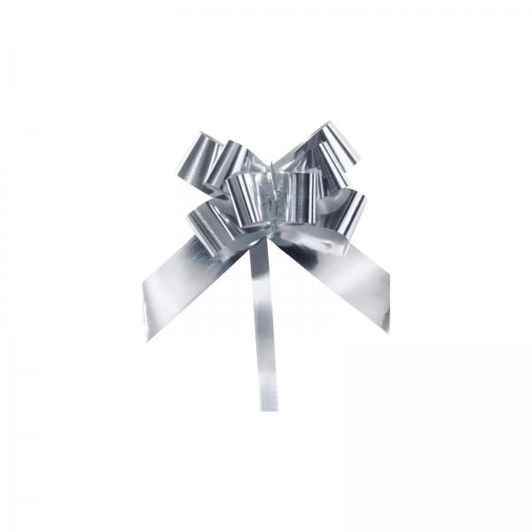 "Ziehschleife ""Grangala"" Silber-Metallic"