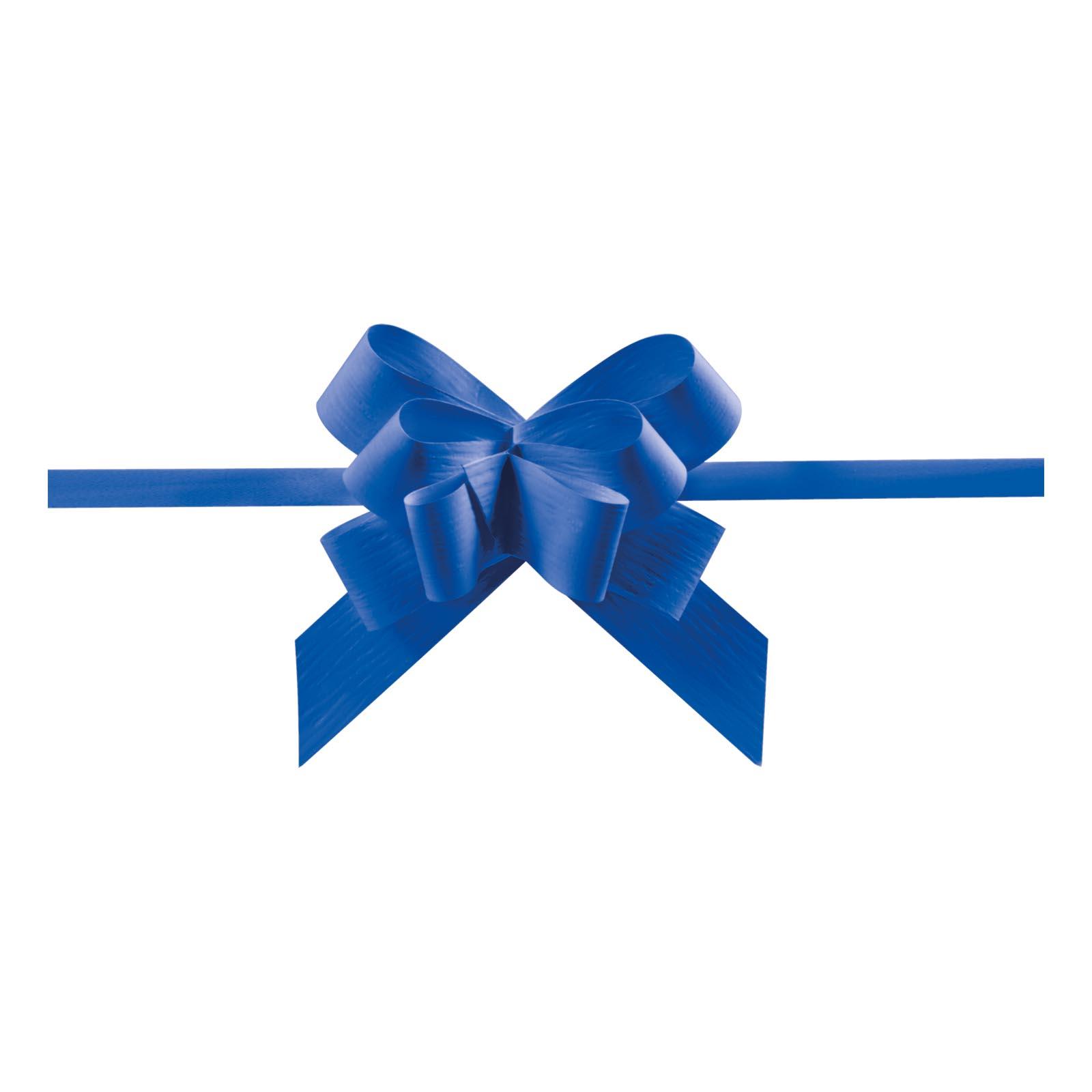 Ziehschleife grangala paper blau ziehschleife for Restposten dekoartikel