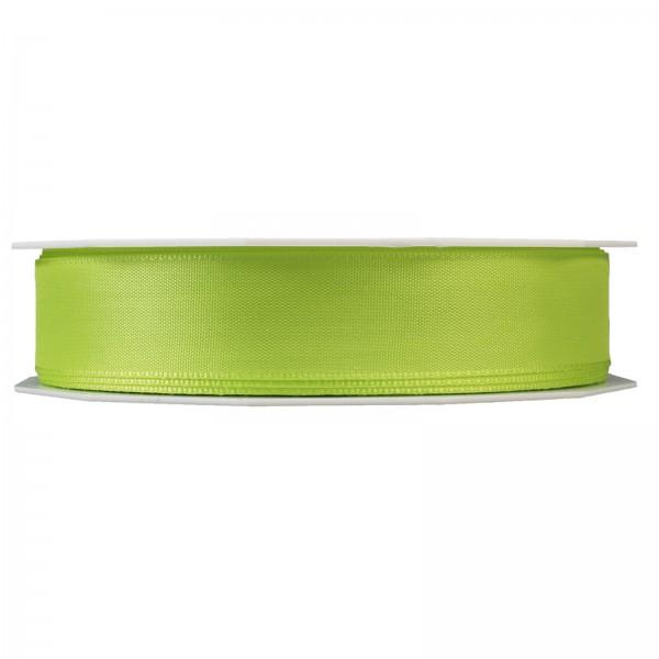 """Geschenkband """"Uni"""" Hellgrün 25mm x 50m"""